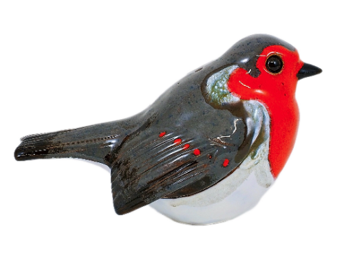 Ceramic decoration for garden bird | Outdoor Figurine | GK620© Midene