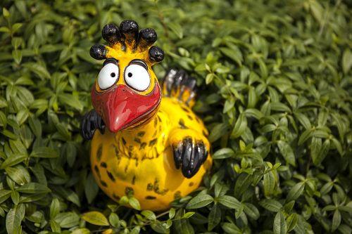 Garden Decoration Colorful Bird