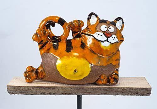 Garden Decoration Cat Handmade Ceramic