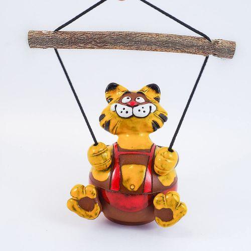 Garden Decoration Cat Swing