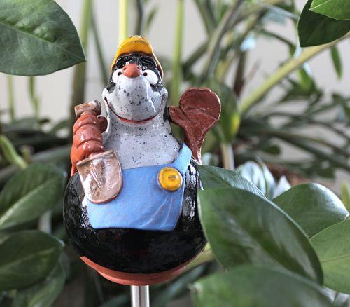 Ceramic garden decoration