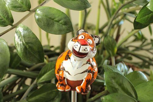Sweet tiger garden decoration
