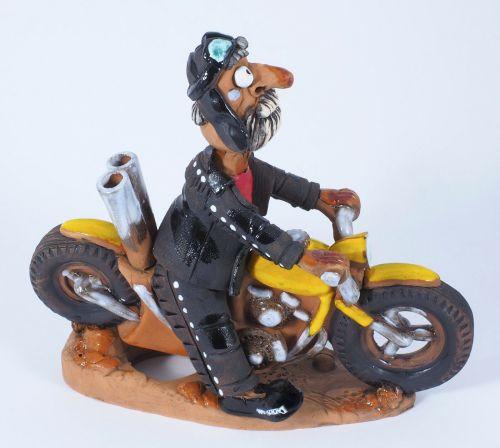 Easy Rider Incense Holder | Figurine | Home Decor | RF62 © Midene