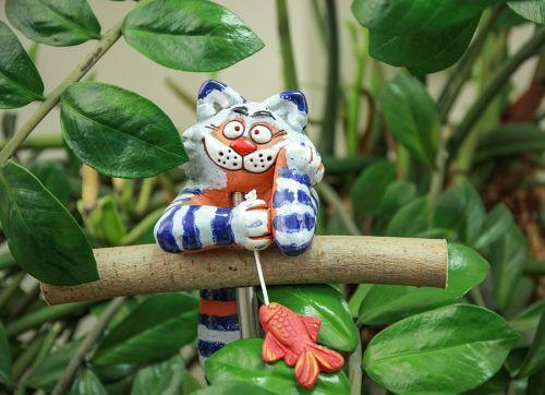 Cat Felix Garden decoration GKW12