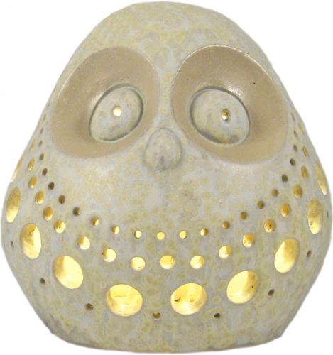 LL 205 Owl - lamp (Crystal white)