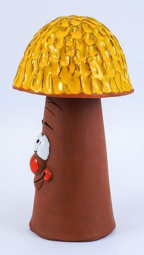 Garden Decoration Mushroom-yellow