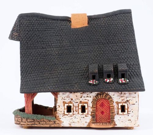 Aroma Candle Holder House Old Smithery in Rothenburg. Handmade B230AR Midi Size