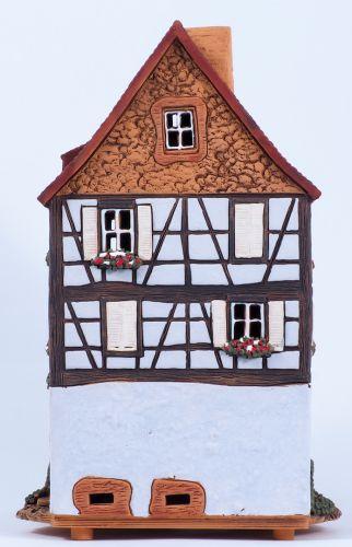 Ceramic s Aroma Candle Holder Potters House in Kaysersberg. Handmade  Medium Size D371AR