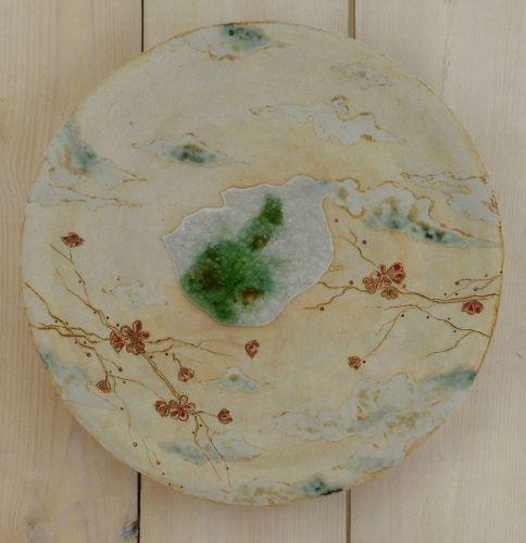 Handmade Midene ceramic Wall Picture