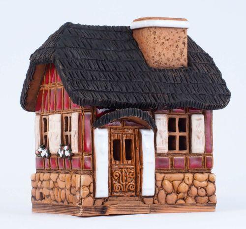 Ceramic Tealight Candle Holder | Room Decoration | A207AR © Midene