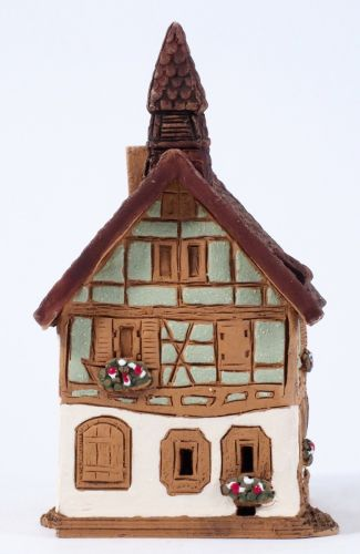 Incense burner A. Schweitzer house in France, 11 cm