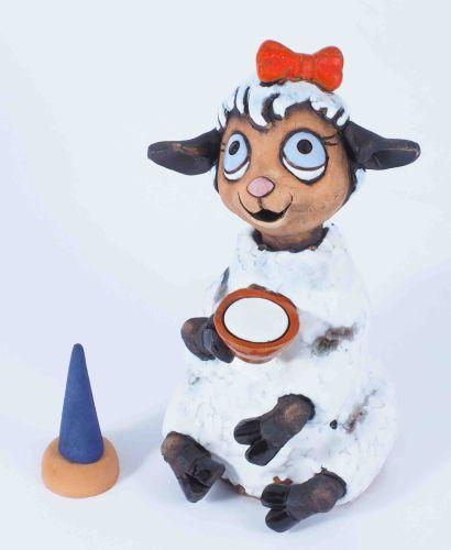 Lovely sheep Incense burner RF144