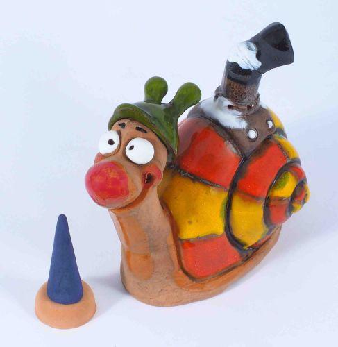 Turbo Ted Incense Holder   Figurine   Home Decor   RF137 © Midene