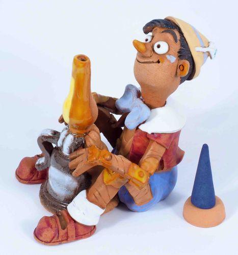 Pinochio Incense Holder | Figurine | Home Decor | RF99 © Midene
