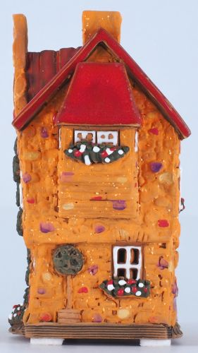 Incense burner, candle holder house