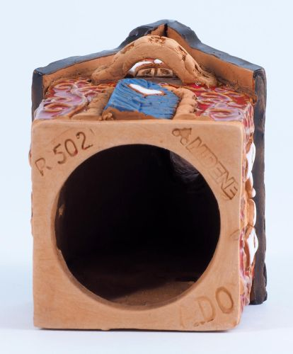 R500-502 set of the houses from Fantasy collection (Incense burners)