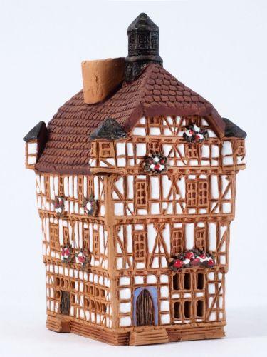 Incense burner Town Hall in Melsungen, Germany, 11 cm,