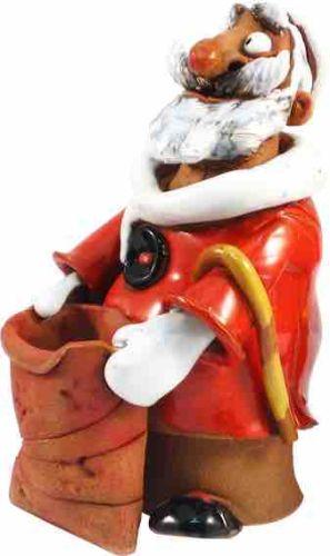 Santa Claus with present bag (Incense burner) RF118