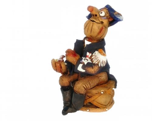 Caporal la Violette Incense Holder | Figurine | Home Decor | RF19 © Midene