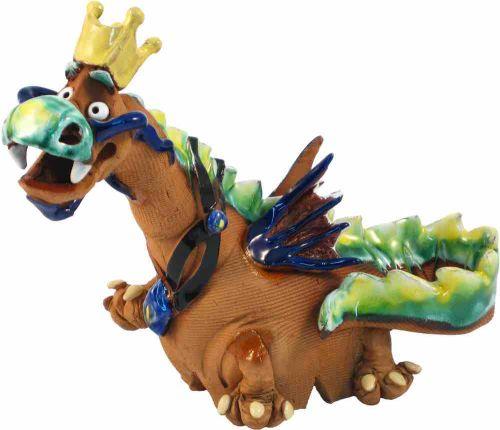 Flying Dragon Incense Holder | Figurine | Home Decor | RF23 © Midene