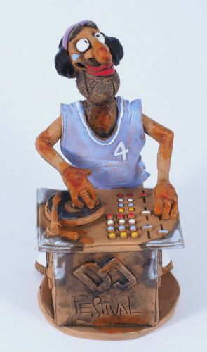 Deejay Incense Holder | Figurine | Home Decor | RF60 © Midene